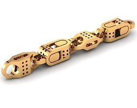 3D print model Eslabon para cadenas chain link E2016-21