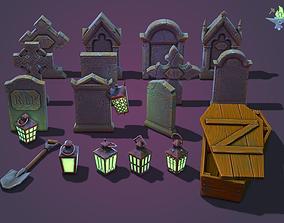 Graveyard Package 3D model