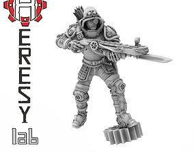 Heresylab - Steam Punk Luther Ballista 3D printable model