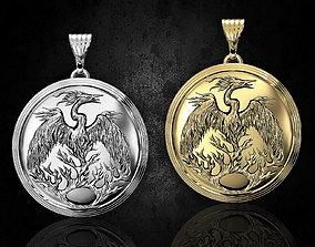 3D print model Phoenix pendant pendants