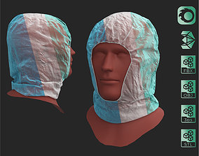 Surgical polypropylene medical scrub cap mask 3D