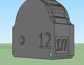 3D printable model Magazine 12 Round