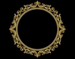 3D Mirror art ornate