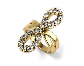 diamond-ring Infinity Ring 3D print model
