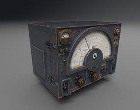3D model WW2 Radio Communications - UE4 ready - Low poly 2