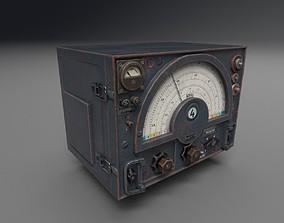 WW2 Radio Communications - UE4 ready - Low poly 3D model 2