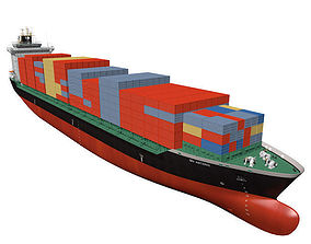 Container vessel 3D