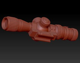 3D printable model Sniper scope