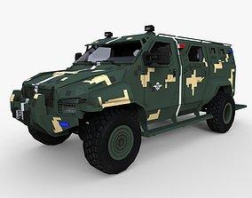 Kraz Spartan or Streit Group Spartan 3D model