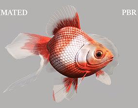 GoldFish 3D model animated VR / AR ready