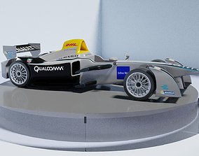 3D model Spark-Renault SRT 01E on a turntable