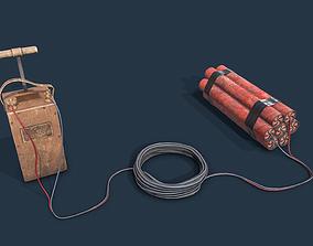 3D model Dynamite Blaster