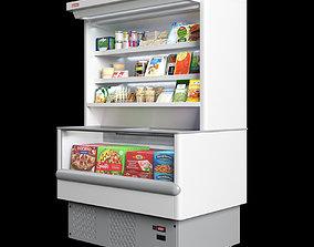 3D Cetus wall freezer showcase