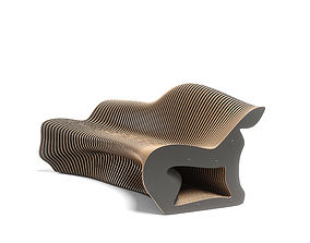 parametric bench 3D model