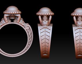 3D printable model Atlants ring