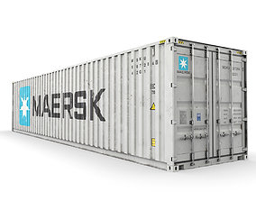 40 feet MAERSK standard shipping container 3D model