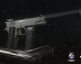 3D model realtime Colt 911