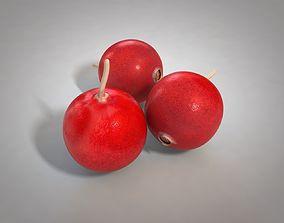 3D asset Crane berry