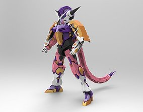 3D model Frieza Gundam