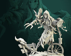 Haunted Scarecrow 75mm and 32mm 3D print model