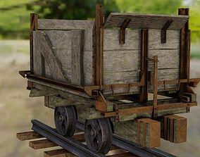 Mine Wagon 3D model