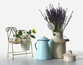 Provence Composition 3D tea