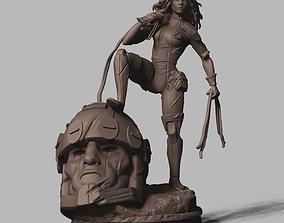 3D print model Rogue X-men