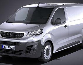 3D model Peugeot Expert 2017