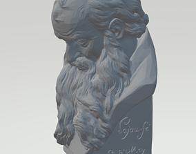 3D print model Head of a Bearded Old Man London
