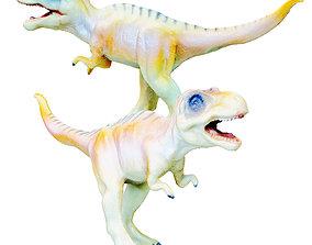 Allosaurus Toy 3D