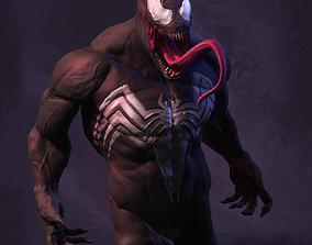 dark Venom 3D model