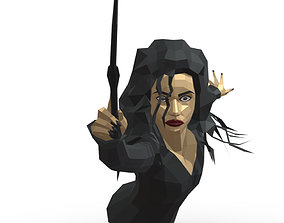 3D print model Bellatrix low poly