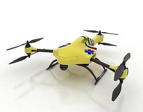 3D model Ambulance Drone