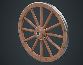 Wagon Wheel 1A 3D model