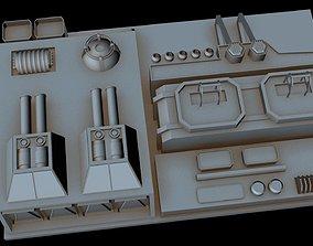 Starship part 34 3D model