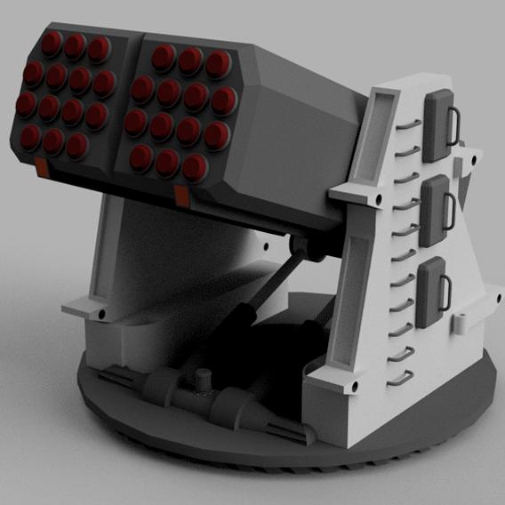 Antiair 3 SAM rotary base
