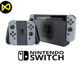 Nintendo Switch Set 1 3D model