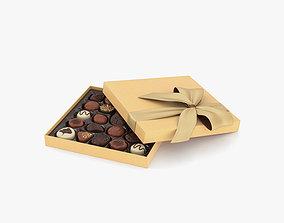 3D model candies Chocolate Box