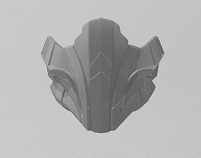 Mortal Kombat 11 Reptile mask Cosplay 3D print model