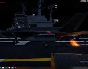 Rigged Animated F35-B F35-C 3D model