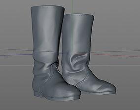 boots 3D print model