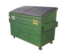 3D asset Garbage Dumpster