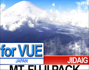 Mt Fuji Package 3D model