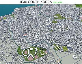 Jeju South Korea 120km 3D asset