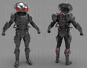 BLACK MANTA ARMOR 3D PRINTABLE FILES-AQUAMAN