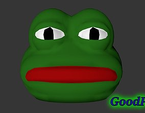 3D print model Pepe the Frog Mask