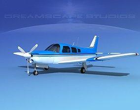 3D Piper Turbo Arrow 240 V16