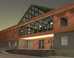 3D Office Building Construction Modular
