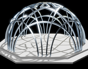 The arch from the Istanbul 3D printable model
