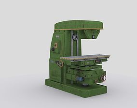 3D asset horizontal milling machine 1